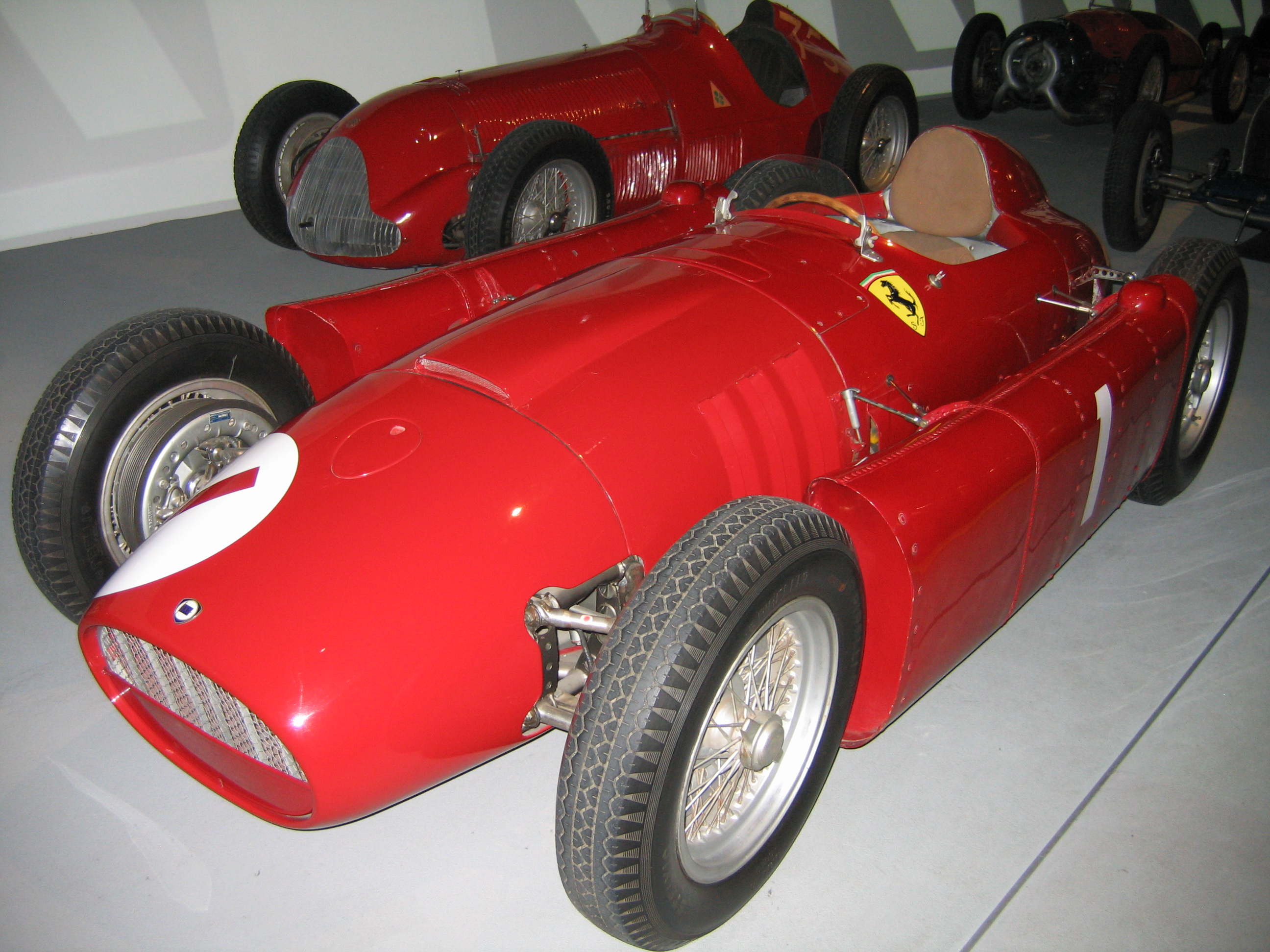 F1scalemodels turin auto museum a formula 1 single seater designed by vittorio jano and presented towards the end of the racing season in 1954 the d50 introduced some sensationally new vanachro Gallery